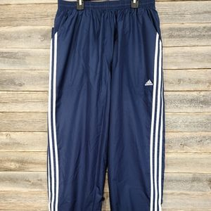 Adidas Men's Athletic Windbreaker Pants